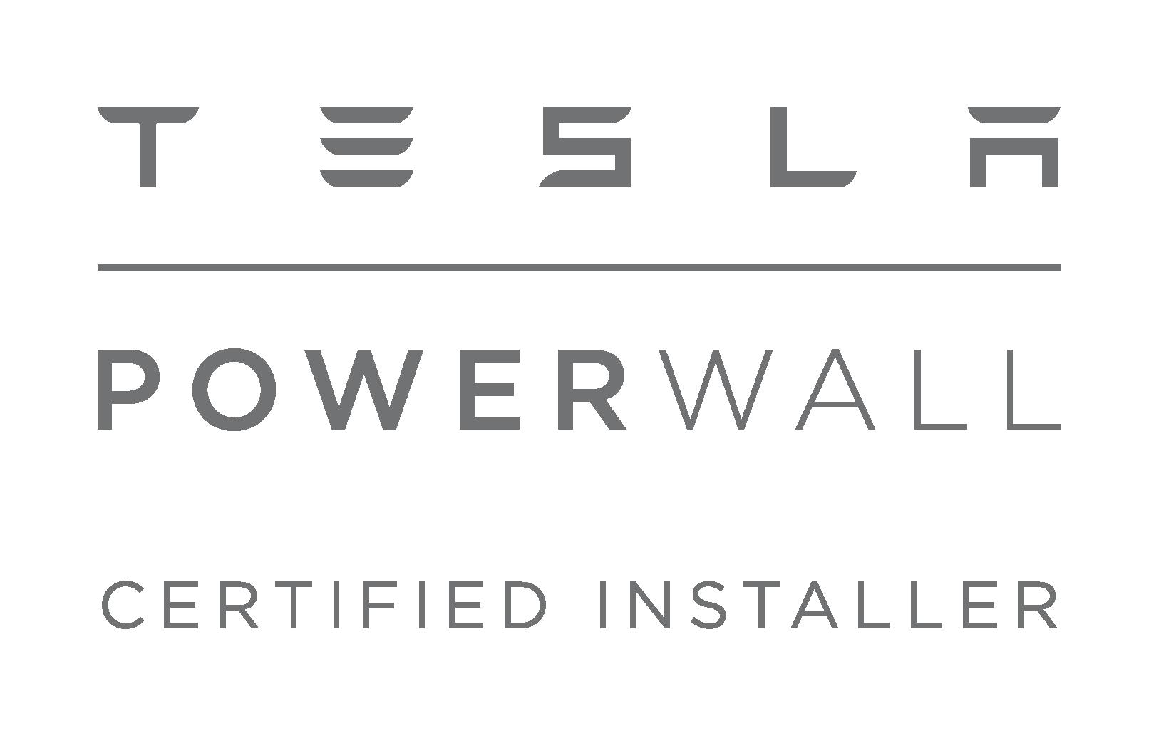 Powerwall Certified Installer Logo